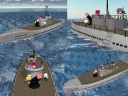 【MMD海軍?】へちょい潜水艦1.0