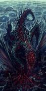 呪いを吐き続ける竜