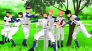 【ダイヤのMMD】青道野球部で伊佐敷せんぱいを祝おう【ダイヤのA】