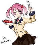 豆腐の日の漣ちゃん