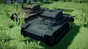 【Minecraft】2号戦車C型【MCヘリ】