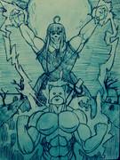 手札のモンスターを一枚捨て、墓地から太郎丸を特殊召喚するめぐねえ