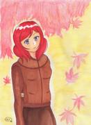 【まる週間】西木野真姫を描いてみた【お題でお絵かき】
