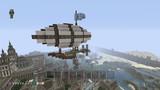 【Minecraft】PS4で街作り中!!!  飛行船