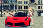 イタリア艦娘とイタリア車と・・・