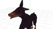 【MMD】 ドーベル犬(ぷらす)【モデル配布】