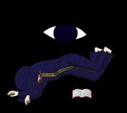 雑魚寝をするネクロビアさん