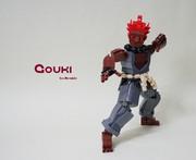 レゴで豪鬼を作ってみた