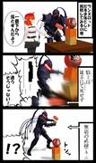 MMDでFGO漫画「ランスロットと私」3