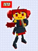 【テトの日】全身可動テトさん【LEGO Digital Designer】