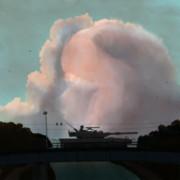 機動戦闘車と橋