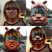 無関係なセクシー男優と富士サファリパークのバスとの比較