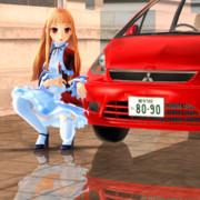 【MMD】レア様のプライベートカー【コルト】その2