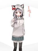 霞ちゃん猫耳