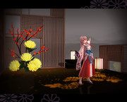 菊花ステージ