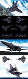 【MMD】高速域機動試験無人機 SWW-⊿⊿⊿【オリメカ】