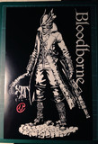 切り絵「Bloodborne」狩人