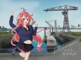 造船の街も今は昔 - 艦これ東京紀航016