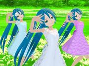 「AKIミクさん三姉妹たちに「プラチナ」を踊っていただきました。」を投稿いたしました。
