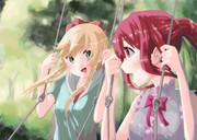 京子と綾乃の仲良しデート