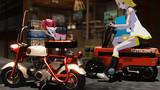 【MMD】ちっちゃいバイク