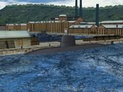 【MMD海軍】 おやしお型潜水艦(のようなもの)1.0