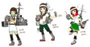 松型駆逐艦娘の軌跡