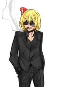 スーツ×ルーミア