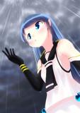 五月雨ちゃん、あめ。