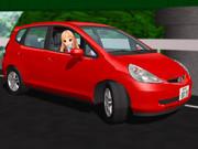 【MMD】レア様の赤い車【11/3はレア様の誕生日】
