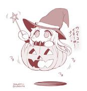 ハロウィンほっぽちゃん。