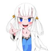 白髪 ニコニコ静画 イラスト