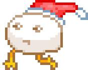 走るクリスマスの化身