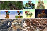 【Minecraft】一時間建築まとめ 3