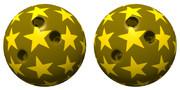 立体視画像132「星のボウリングボール」