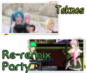 【MMD-PVF3】予告篇3 - Re-remix Party