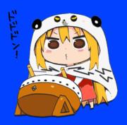 太鼓を叩く幼女(雑コラ