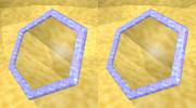 立体視画像135「六角形の鏡」