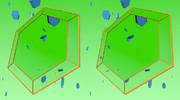 立体視画像137「六角形の鏡」
