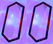 立体視画像138「六角形の鏡」