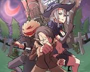 ハロウィン三人衆