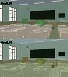 木造校舎ステージVer0.94 内部比較