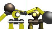 〈MMDオリメカ配布あり〉破砕用人型機械「テッキュウ」