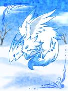 雪原の獣竜