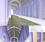 【MMDギアス】アッシュフォード学園廊下ステージ【ステージ配布】