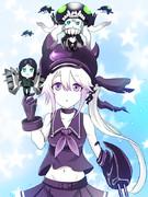 駆逐棲姫とヲ級&ル級ちゃん