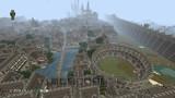 【Minecraft】PS4で街作り中!!!  全体図②