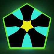 五角形コースター23