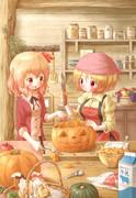 秋姉妹のハロウィン