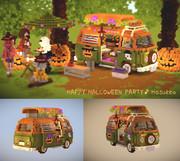【Minecraft】VWタイプ2でハッピー・ハロウィン・パーティー♪【デフォルメカー】
